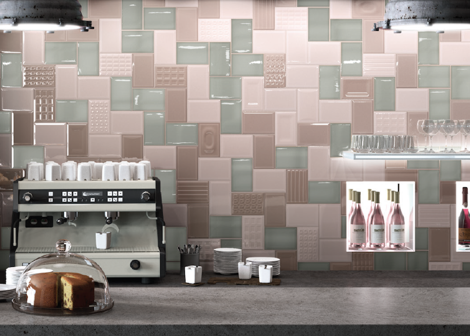 Freestyle wall tile