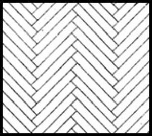 Herringbone-Pattern
