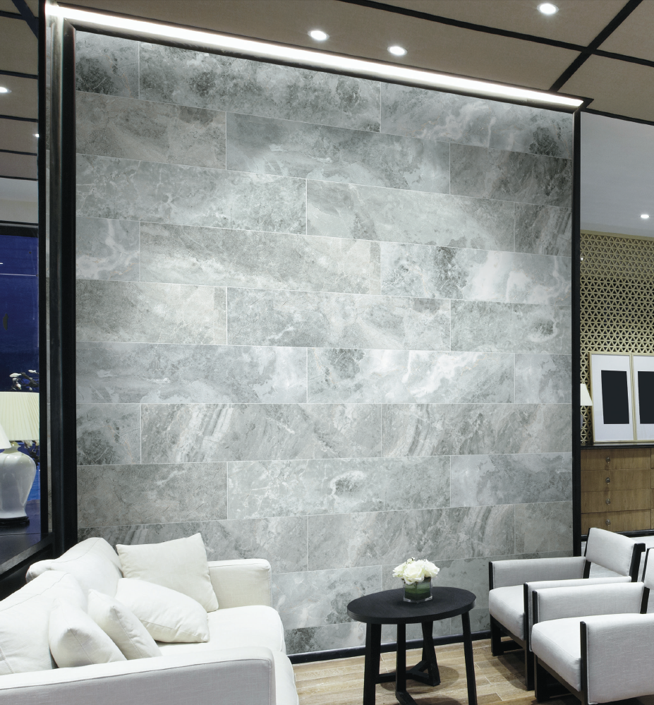 Traverse floor and wall tile