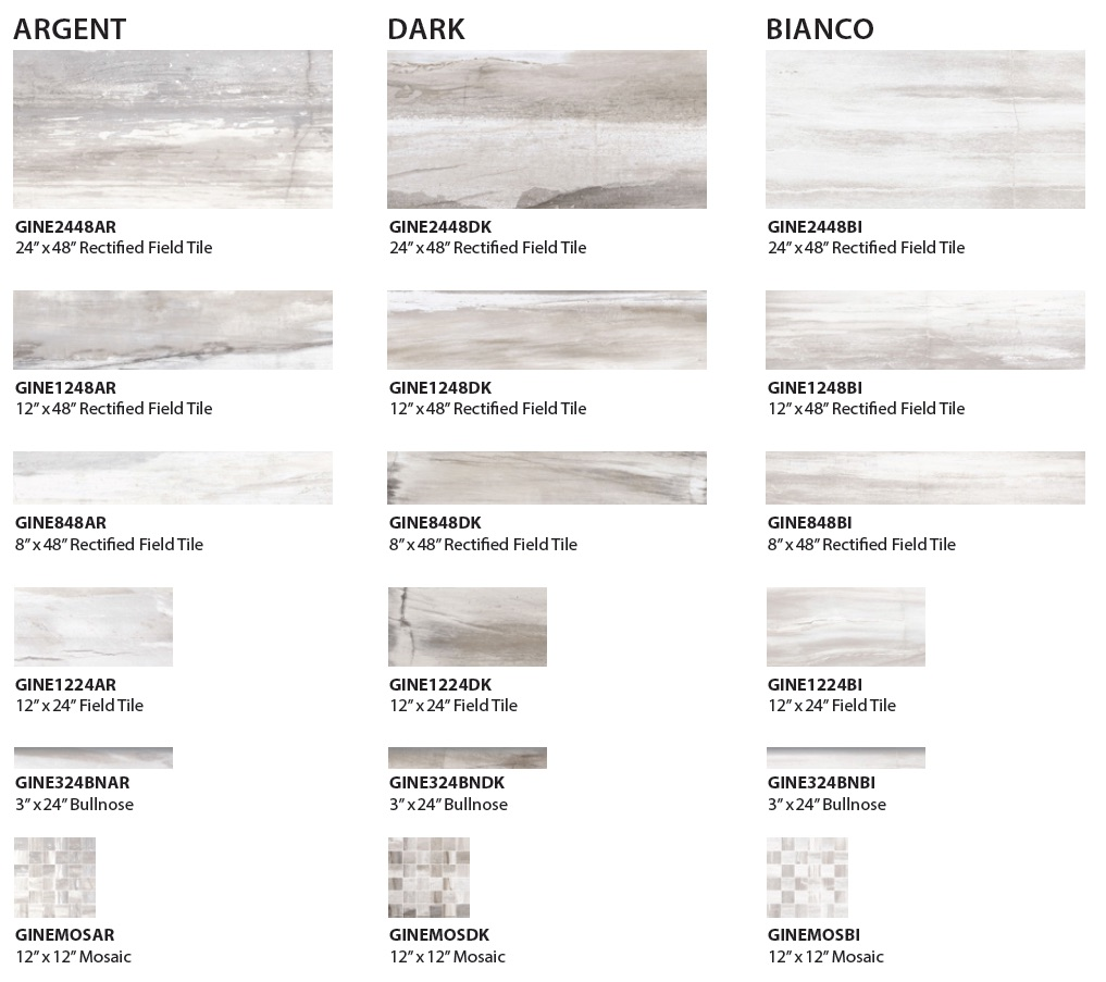 Neolith porcelain tile colors