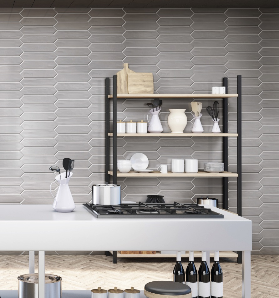 GIO Picket Glazed Porcelain Wall Tile