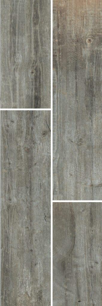 Wood Wirebrush Grey