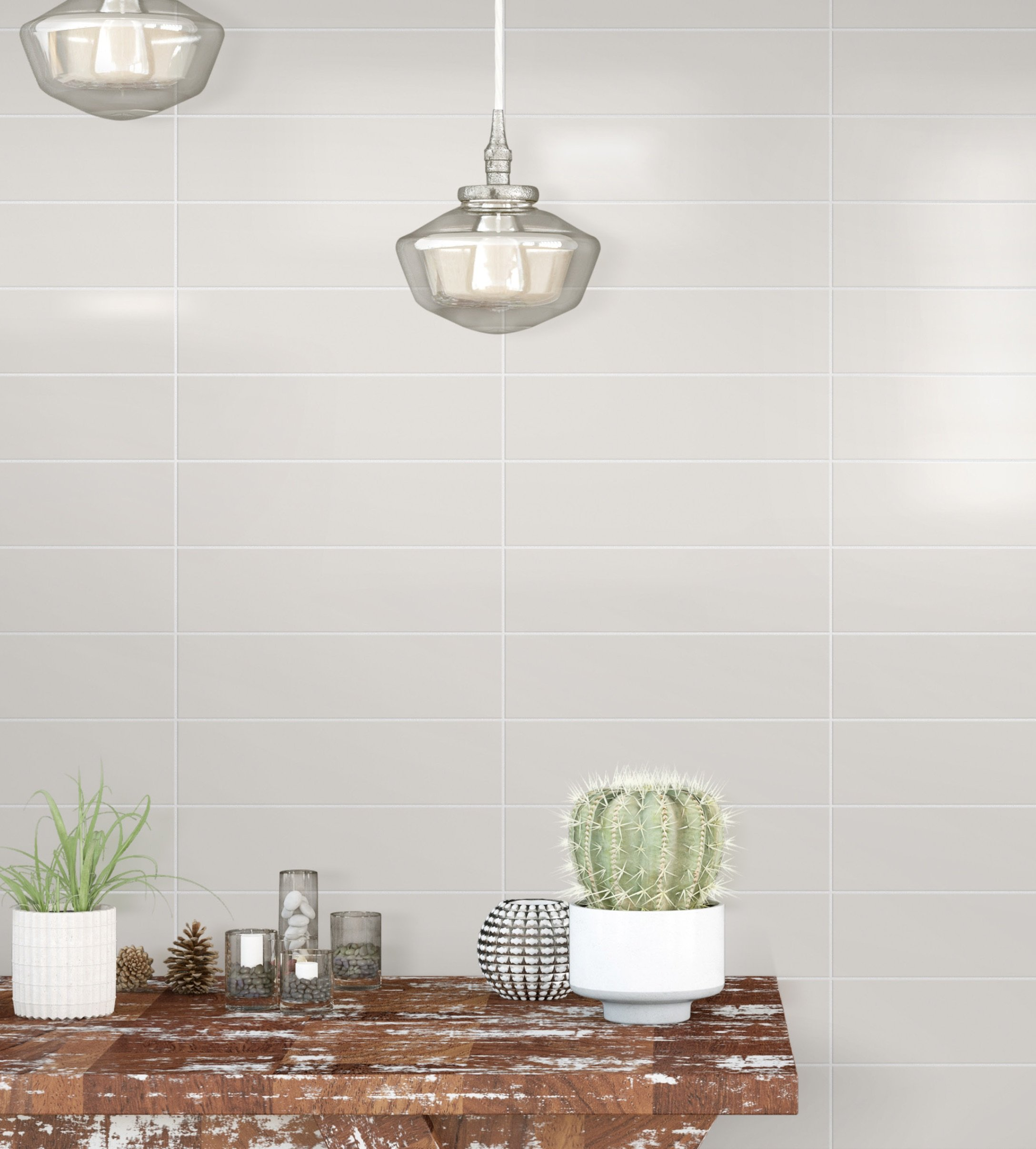 Subway by GIO Wall Tile in 4x16 Architectural Grey Bright