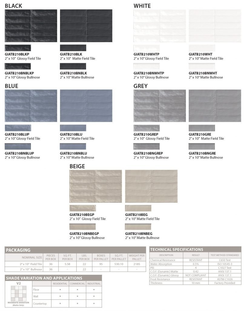 GIO brick_mood floor and wall tile color and spec sheet